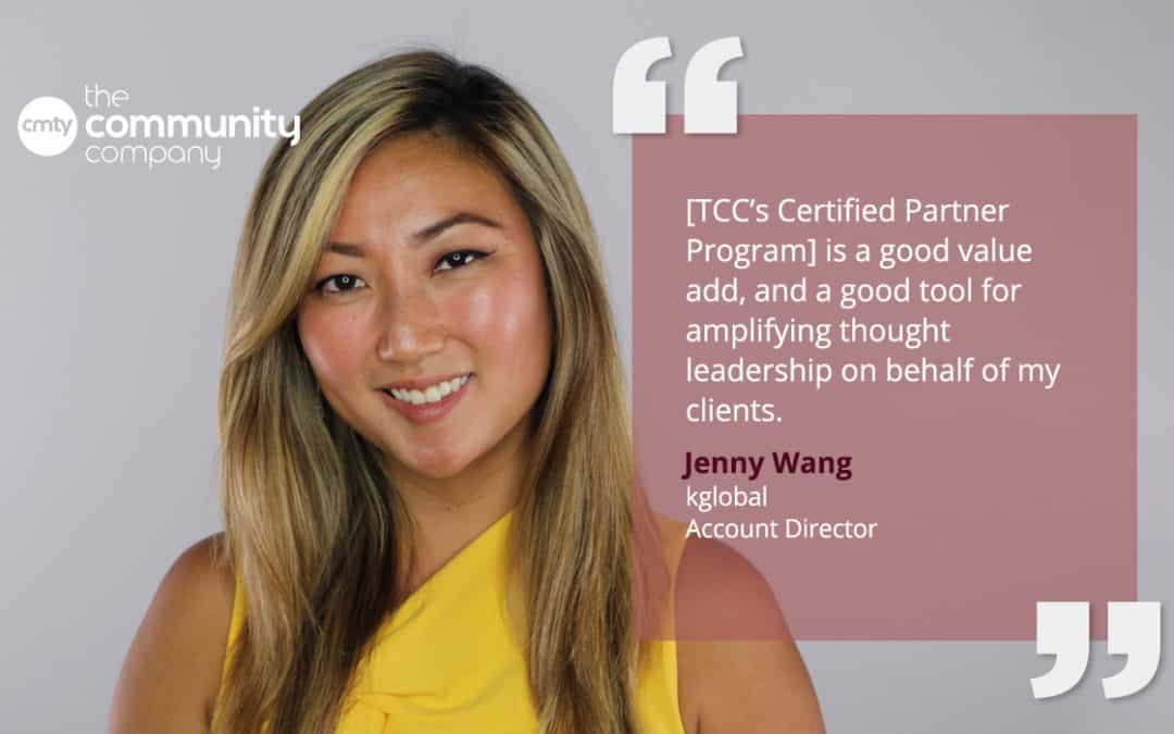The Community Company's Certified Partner Program Gives Jenny Wang a Great Value Add for Her Clients